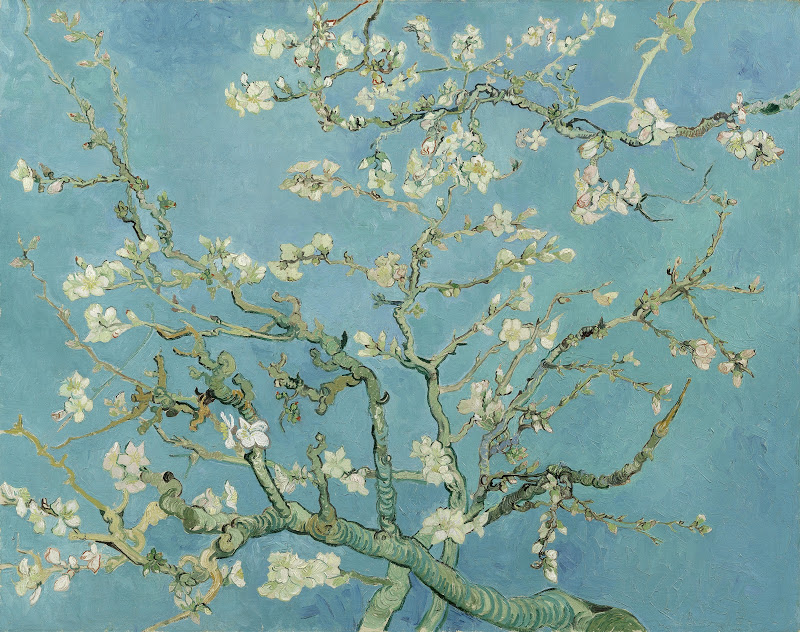 Van Gogh, Amandelbloesem, 1890