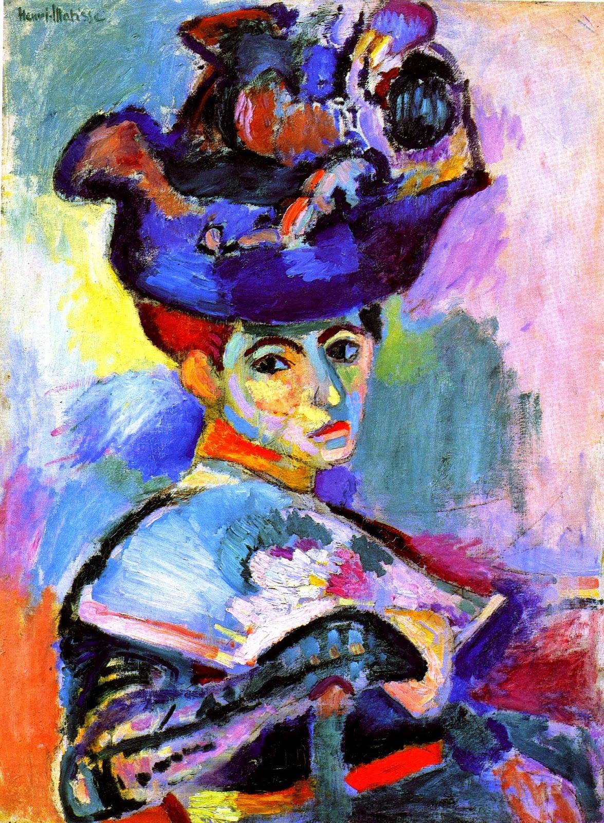 Matisse, Vrouw met hoed, 1905